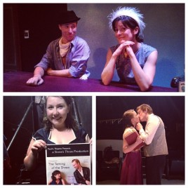 """""""The Taming of the Shrew"""" dir. by Eleanor Felton in association with Pacific Theatre, Vancouver, BC. (2015)."""