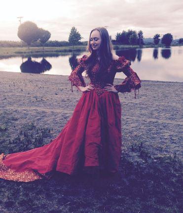 "As Cordelia in ""King Lear"" summer 2018."