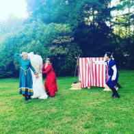 """Merry Wives of Windsor"" (Backyard Bard via Greenstage; dir. by Erin Day 2019)."